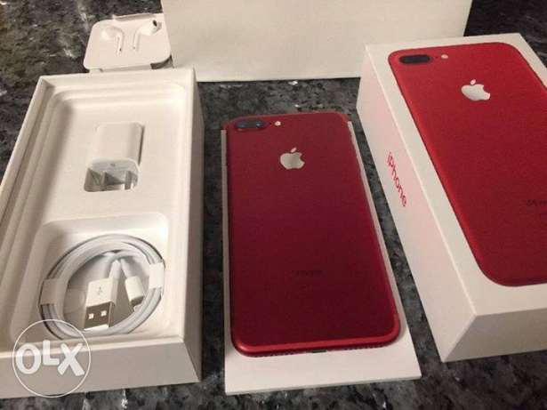 Iphone 7 red 128g sealed warranty adkom