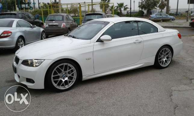 Bmw 335 cabriolet 2009 M package ajnbieh clean car fax تقسيط بنك