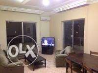 Furnished 2 bedrooms apartment for rent in MANSOURIEH