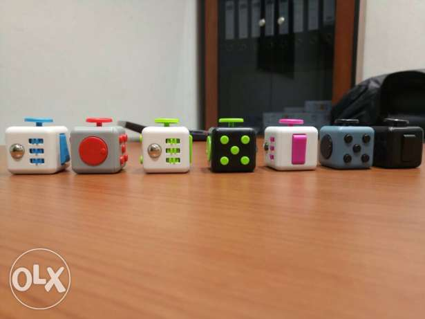 Fidget Cube - Stress relief. Buy one, get one free. Limited quantity!