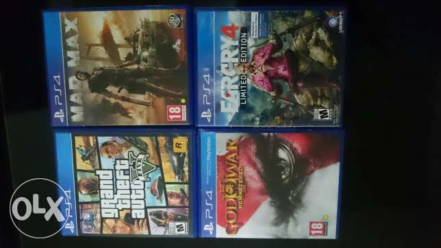 Ps4 games for sell or trade