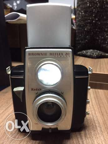 Kodak vintage camera Brownie Reflex 20