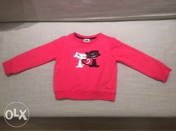 Karl Lagerfeld new sweat-shirt for 2year-girl