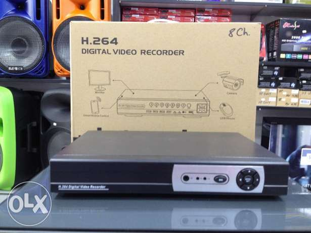 DVR 8Ch video/8Ch Audio at 75$ only.