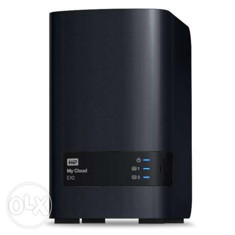 Western digital My Cloud EX2 المرفأ -  1