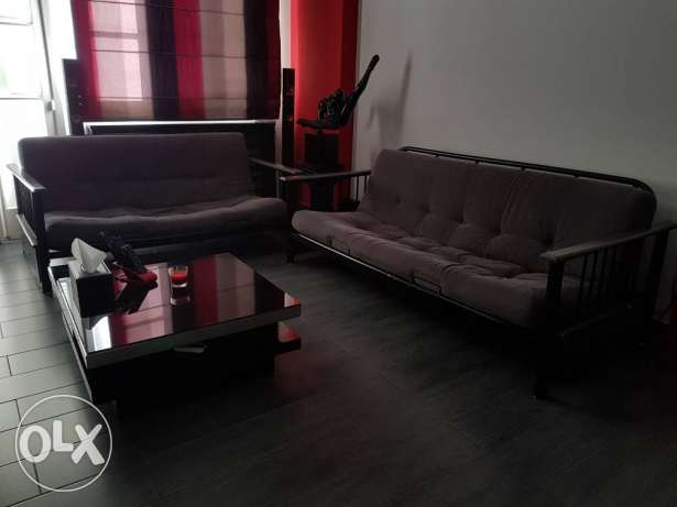 Two sofa beds, good condition
