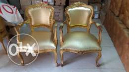 Armed chairs Bergere classical style in good condition and great price