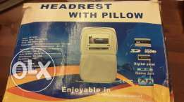 Headrest with pillow