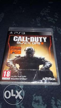 Call of duty black of 3 for PS3 16gb