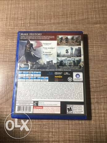 Assasin's Creed unity for sale .ps4 جبيل -  3