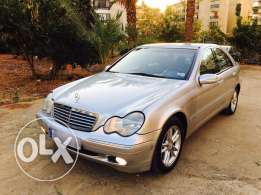 Mercedes C200 Kompressor Model 2001 tgf
