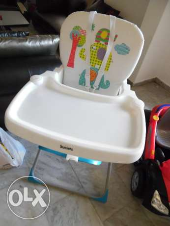 Used Excelent condition Juniors branded Kids feeding chair 9m to 4Yrs