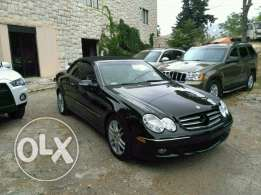 Mercedes clk 350 full option clean carfax 2008