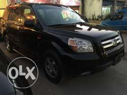 2008 Honda Pilot 4wd 7 seats black color newt arrived