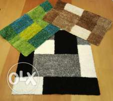 Last 3 NEW shaggy carpets 160x230