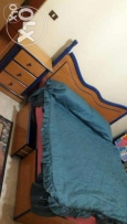 Master bedroom/bed/drawers/2comod/shifonyer with chair/closet