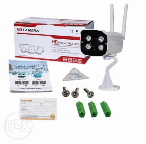 Double Antenna Wireless IP Camera Wifi Night Vision Security camera HD