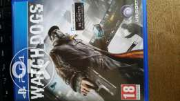 Watch dogs ps4 excellent condition for trade