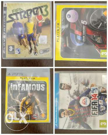 Games cds ps3