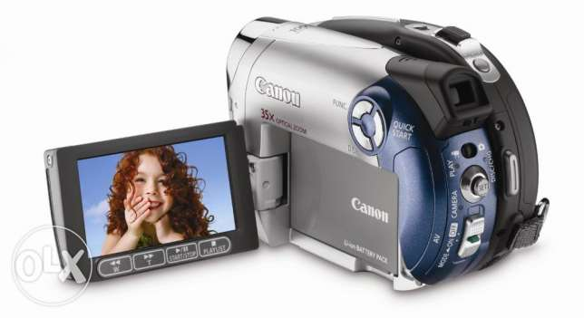Canon DC210 DVD Camcorder with 35x Optical Zoom - FINAL DISCOUNT