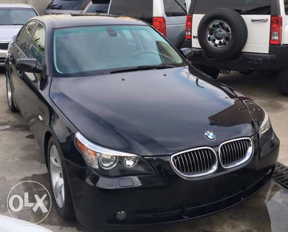 2007 BMW 525 black/black sport package like new
