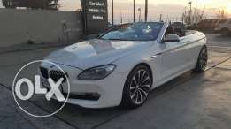 BMW 640//Convertilbe New Look 2011//White on Black super attractive