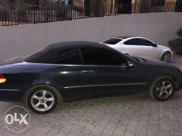 Clk 320 convertible 2004 in a v good condition بلونة -  2