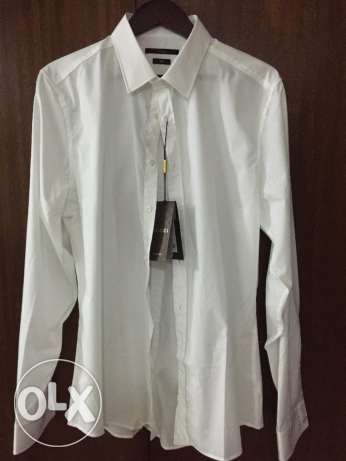 Gucci Solid French-Cuff Dress Shirt for Men