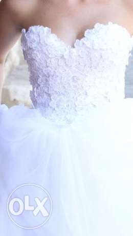 hand made wedding dress بوشرية -  1