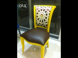 Colored Wooden chair