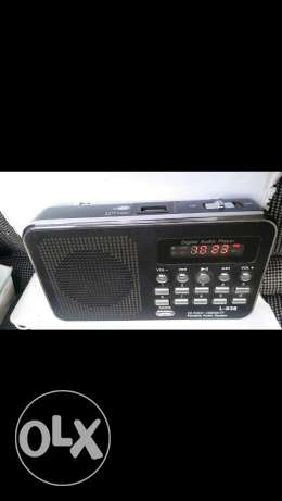Mp3 fm radio digital audio player جديدة -  3