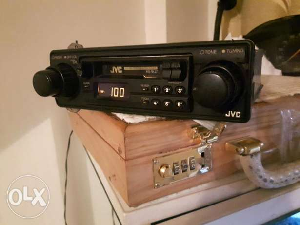 Old radio casette from JVC
