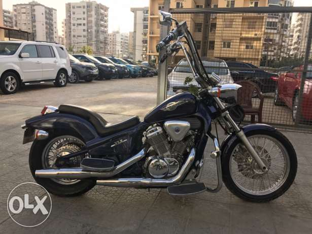 honda steed 400 american system dark blue great conditions