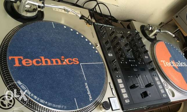 pair of technics Turntables Sl 1200 Mkii