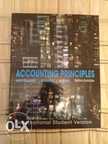 Accounting Principles 10th edition book for sale!