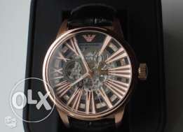 Stunning Meccanico rose skeleton (rare brand new with the warranty)