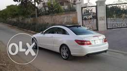 E 350 coupe 2010 amg line pearl white ajnabiyi special car mercedes