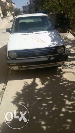 Golf 2 gti motor 1800 ndefi ankad model 1987 كرك -  2