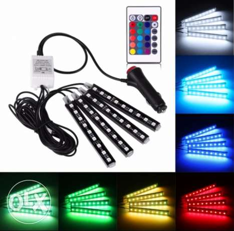 Car Remote Control Decorative Flexible LEd