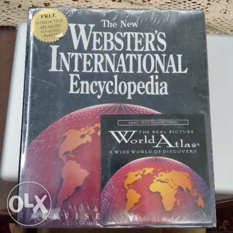 The New Webster's International Encyclopedia with CD - Brand New!
