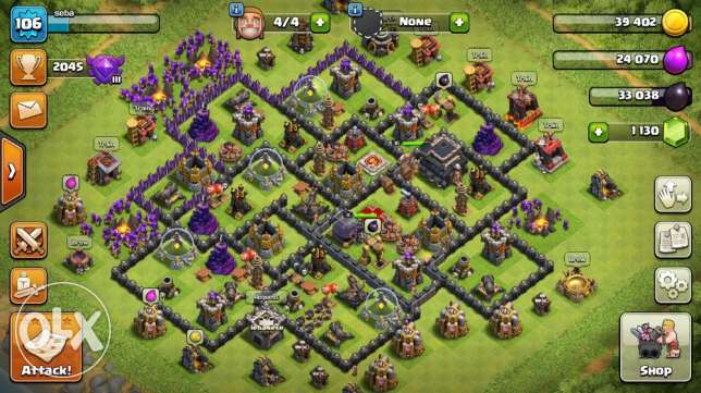 town hall 9 maxed 100$