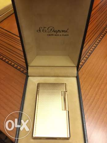 St Dupont pure Gold