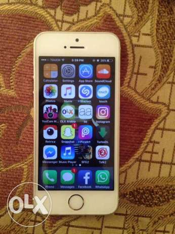 iPhone 5s gold fi jrou7a men barra bas jouwa ktir ndif 16G