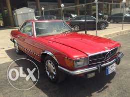1973 sl red color , extra clean , runs good