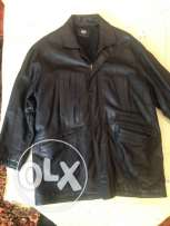 Bush Vintage leather coat made in Germany
