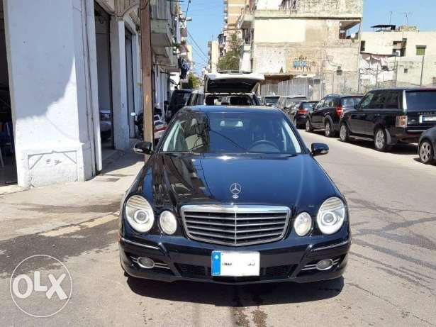 Mercedes E350 MY2007 Black/Black Look AMG As New 0Accidents 75000 Mile