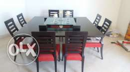 Used Dining Room Table and 8 chairs Excellent Price