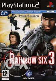 مطلوب CD rainbow six ps2
