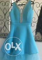 blue dress high quality design loulou size XL from 40-46