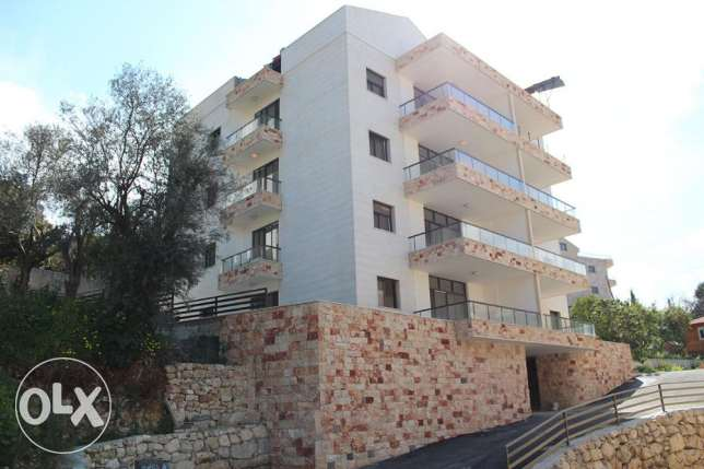 New apartment for sale in a calm area in Ghazir 5 min from the highway